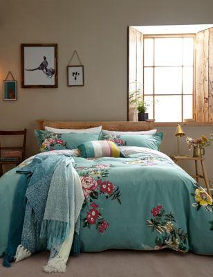 Pure Cotton Cotswold Floral Bedding Set