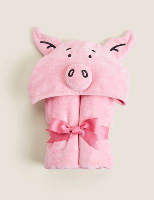 Pure Cotton Percy Pig™ Kids Bath Towel