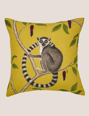 Pure Cotton Jackfruit Embroidered Cushion