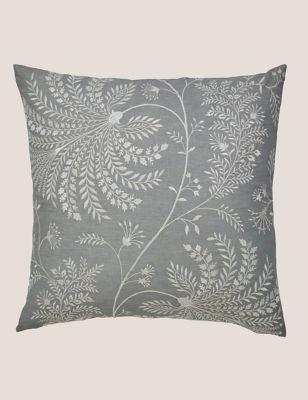 Cotton Mix King Protea Cushion
