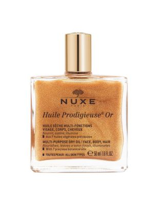 Huile Prodigieuse® Multipurpose Golden Shimmer Oil 50ml