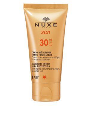 Sun SPF 30 Delicious Cream High Protection Face 50ml