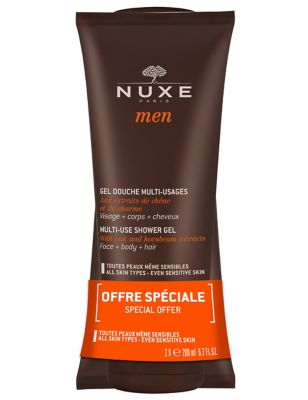 Nuxe Men's Shower Gel Duo – Worth £22.00