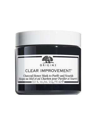 Clear Improvement Charcoal Honey Mask 75ml