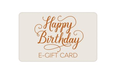 Birthday Text E-Gift Card