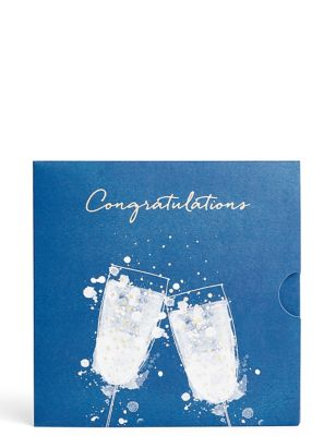 Two Glasses Navy Gift Card