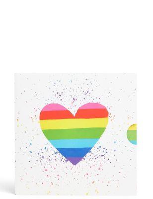 Rainbow Heart Gift Card