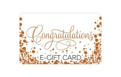 Congratulations Bubbles E-Gift Card
