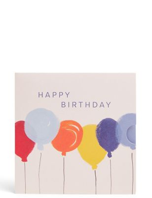 Colourful Balloons Gift Card
