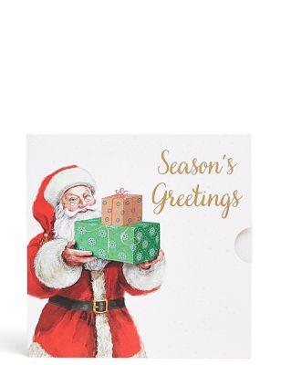 Santa with Presents Gift Card