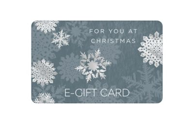 Snowflakes E- Gift Card