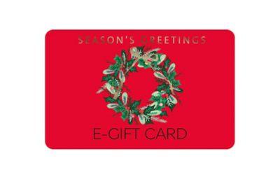Red Wreath E-gift card