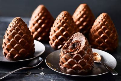 M&S Collection Six Chocolate Pine Cones