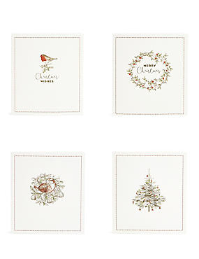 Traditional Icons Christmas Charity Cards Pack of 20, , catlanding