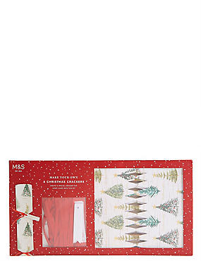 Tree Icon Make Your Own Christmas Crackers Pack of 8, , catlanding