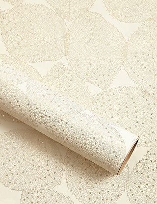 Gold leaf christmas wrapping paper 3m ms negle Image collections