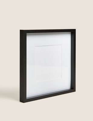 Wood Square Photo Frame