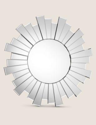 Sunburst Large Round Mirror