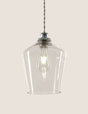 Claudia Glass Easy Fit Ceiling Light