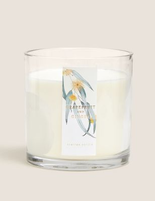 Grapefruit & Ginger 3 Wick Candle