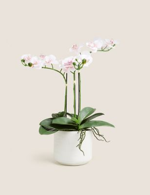 Artificial Large Orchid Plant