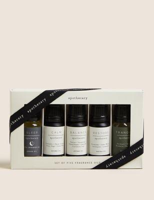 Set of 5 Apothecary Fragrance Oils
