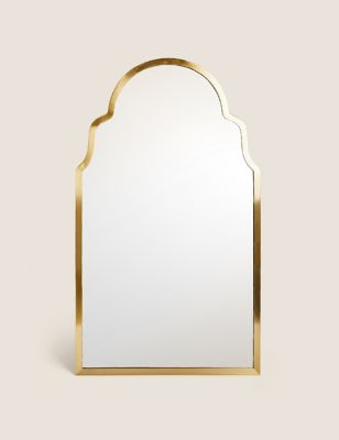 Madrid Large Curved Wall Mirror