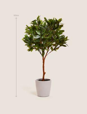 Artificial Floor Standing Bay Tree