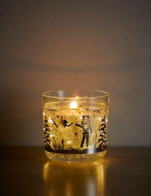 Nutcracker Light Up Candle
