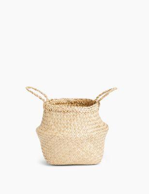 Straw Small Basket