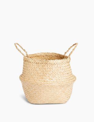 Straw Large Basket