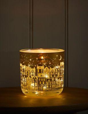 Mandarin, Clove & Cinnamon Light Up Candle