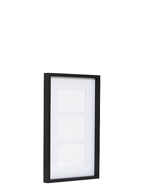 2 in 1 Mount Multi Aperture Photo Frame 10 x 15cm (4 x 6 inch)