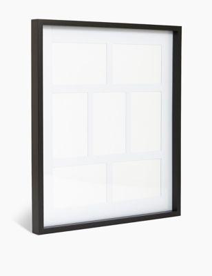 7 Aperture Wood Photo Frame