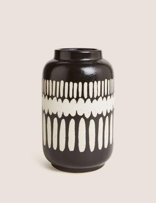 Tall Geometric Vase