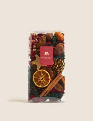 Mandarin, Clove & Cinnamon Potpourri