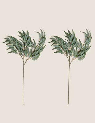 Set of 2 Artificial Willow Sprays