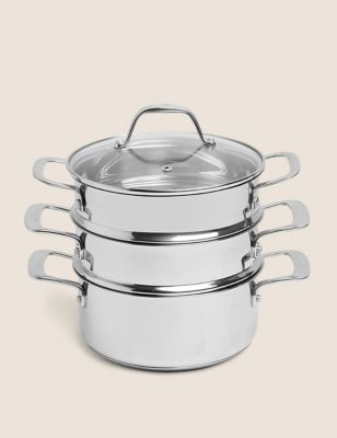 Stainless Steel 3 Tier Steamer