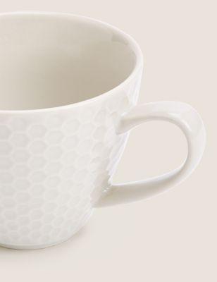 Textured Taupe Mug