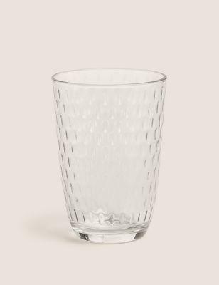 Spot Textured Highball Glass