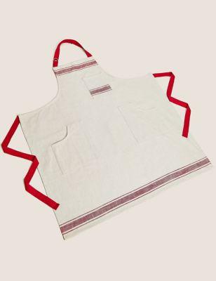 Pure Cotton Striped Apron