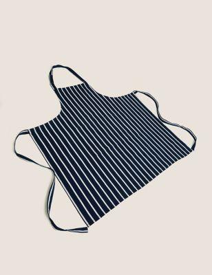 Cotton Striped Apron