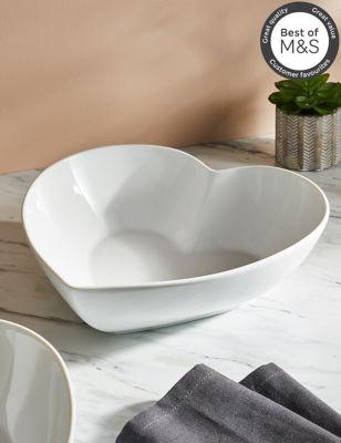 Maxim Large Heart Serving Bowl