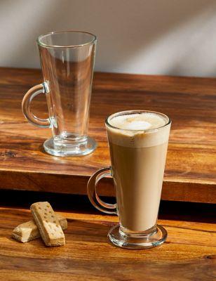 Set of 2 Latte Glasses