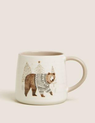 Festive Bear Mug