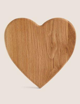 Heart Wooden Chopping Board