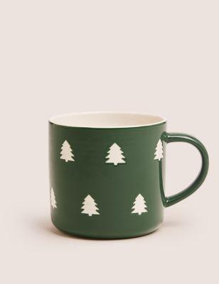 Jumbo Christmas Tree Mug