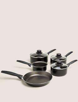 P60503077: 5 Piece Aluminium Pan Set