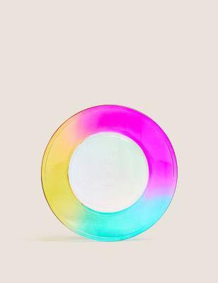 Set of 4 Rainbow Picnic Side Plates