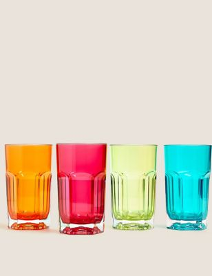 Set of 4 Boston Picnic Highballs